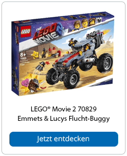 LEGO® Movie 2 70829 Emmets & Lucys Flucht-Buggy