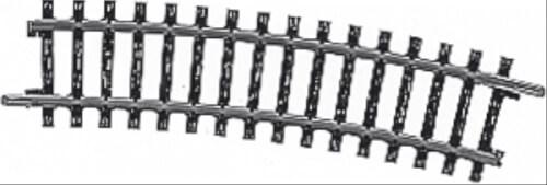 Märklin 2233 MÄRKLIN 2233 H0-Gleis geb.r424,6 mm,15 Gr.