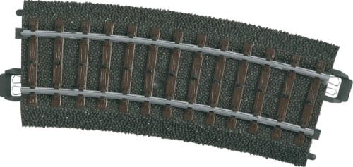 Märklin 24115 H0-Gleis geb.r360mm,15 Gr.