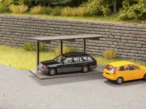 N Freitragender Carport