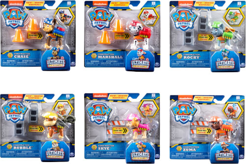 Spin Master Paw Patrol Ultimate Construction Hero Pups