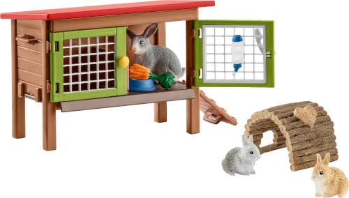Schleich Farm World 42420 Kaninchenstall