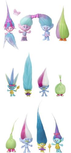 Hasbro B6557EU4 Trollstadt 4er Charakter-Set