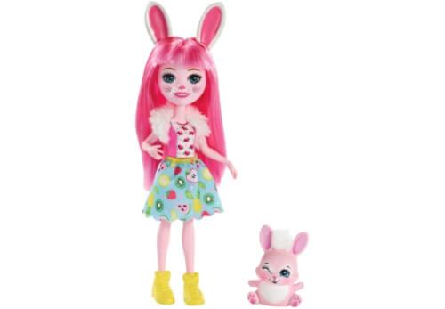 Mattel FXM73 Enchantimals Bree Bunny & Twist