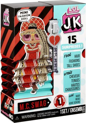 L.O.L. Surprise J.K. Doll- M.C. Swag