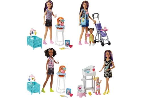 Mattel Barbie FHY97 ''Skipper Babysitter Inc.'' Spielset