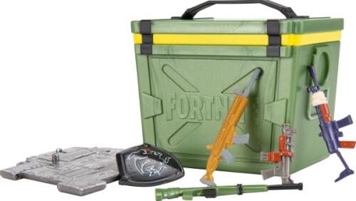 Jazwares Fortnite FNT0088 FORTNITE - Loot Battle Boxen sortiert Serie 2
