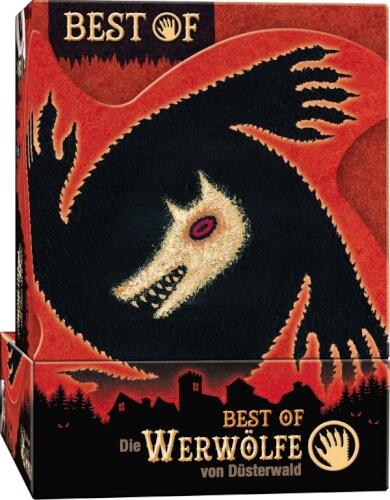 Asmodee Best of Werwölfe, ab Ab 10 Jahren, 8-28 Spieler