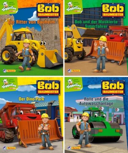 Nelson Mini-Bücher: Bob der Baumeister 5-8