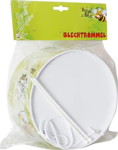 Boogie Bee Blechtrommel mit Trommelstöcken, #20 cm