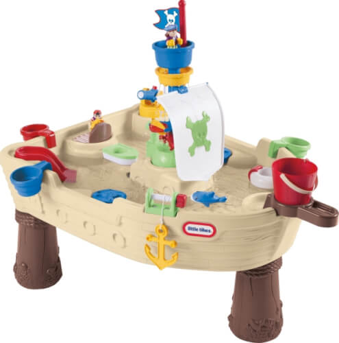 MGA Anchors Away Pirate Ship refresh (manual pump)