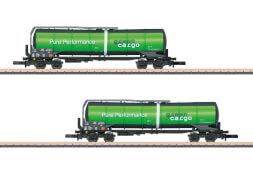 Märklin 82532 Z Knickkesselwagen-Set Green Cargo