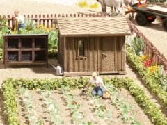 H0 Obstgarten-Set