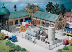 N Industrie-Metallzaun, 370  mm