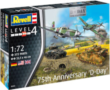 REVELL 75th Anniversary Set D-Day 1:72