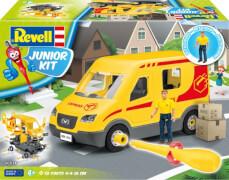 REVELL 00814 Junior Kit Paketdienst mit Figur 1:20, ab 4 Jahre