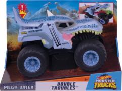 Mattel GCG08 Hot Wheels Monster Trucks 1:24 Mega-Wrex Double Troubles