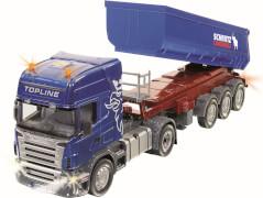 SIKU 6725 CONTROL32 - Scania mit Muldenkipper Set, 1:32, ab 3 Jahre