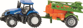 SIKU 1668 SUPER - Traktor mit Feldspritze, ab 3 Jahre
