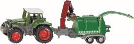 SIKU 1675 SUPER - Traktor mit Holzhäcksler, ab 3 Jahre