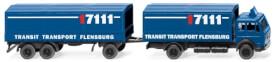 Pritschenlastzug (MB) Transit Transport
