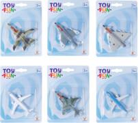 Toy Fun D/C Flugzeug, Rückzug, 8-fach sortiert