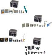 Mattel GNM31 Minecraft Dungeons Battle Chest (für 8 cm Figuren), sortiert