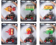Speedzone D/C Traktor mit Anhänger, 3-fach sortiert, W135 x H182 mm