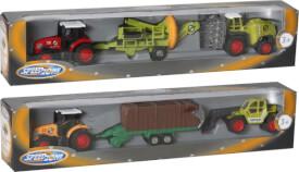 Speedzone D/C Traktor mit Hänger, 2-fach sortiert