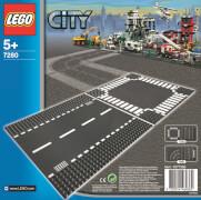 LEGO® City 7280 Gerade Straße / Kreuzung,