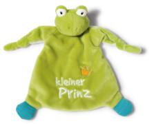 NICI Schmusetuch Frosch kleiner Prinz