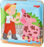 Haba Badebuch Waschtag bei Schwein & Kuh