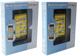SpielMaus Baby Smartphone, Babyspielzeug, ca. 5,9x1x12,5 cm, ab 18 Monaten