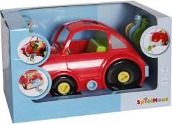 SpielMaus Baby Schlüsselauto mit Fahrerfigur, 7-teilig, ca. 27x16x16,5 cm, ab 12 Monaten
