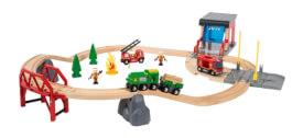 BRIO 33817000 Bahn Großes Feuerwehr Deluxe Set