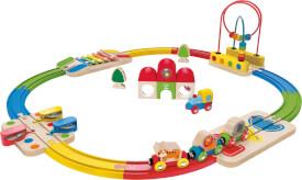 Hape Erlebnis Eisenbahn-Set