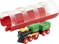 BRIO 63389200 Tunnel Box Dampflockzug D