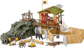 Schleich Wild Life 42350 Dschungel Forschungsstation Croco, ab 5 Jahre