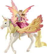 Schleich Bayala - 70568 Feya mit Pegasus-Einhorn, ab 5 Jahre