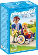 Playmobil 6663 Kind im Rollstuhl, ca. 5x9x14, ab 4 Jahren