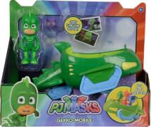 Simba PJ Masks - Spielfigur ''Gecko'' inkl. Geckomobil, Kunststoff, ab 3 Jahre