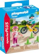 PLAYMOBIL 70061 Kinder m.Skates u.BMX