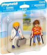PLAYMOBIL 70079 DuoPack Ärztin und Patient