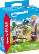 PLAYMOBIL 70155 Kinder mit Kälbchen