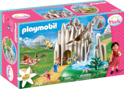 PLAYMOBIL 70254 Am Kristallsee mit Heidi, Peter und Clara