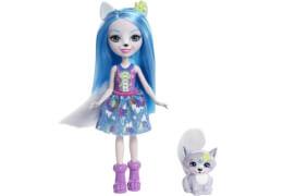 Mattel FRH40 Enchantimals Wolfsmädchen Winsley Puppe