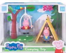 Jazwares Peppa PEP0087 PEPPA  - Camping Spaß Spielset