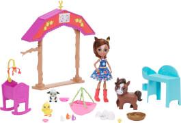 Mattel GJX23 Enchantimals Pferdespaß-Kindergarten