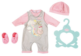 Zapf 702635 Baby Annabell Süßes Baby Outfit 43cm