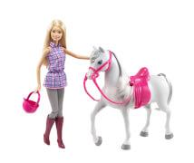 Mattel Barbie & Pferd